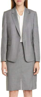 BOSS Jeniver Wool Suit Jacket