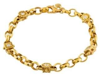 Penny Preville 18K Diamond Station Bracelet