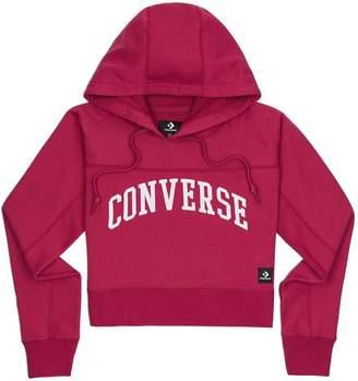 Converse Cotton Printed Hoodie