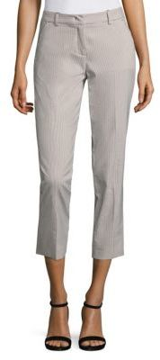 Max MaraWeekend Max Mara Striped Cropped Pants