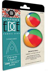 Crafter's Edge Beach Ball Fabric Cutting Dies