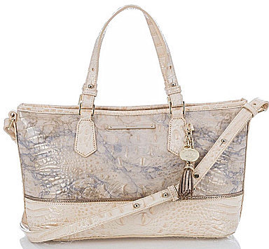 Brahmin BRAHMIN Brahmin Alma Collection Mini Asher Tasseled Tote