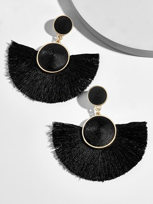 BaubleBar Marinella Fringe Drop Earrings