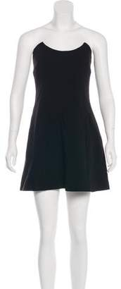 Miu Miu Strapless Mini Dress