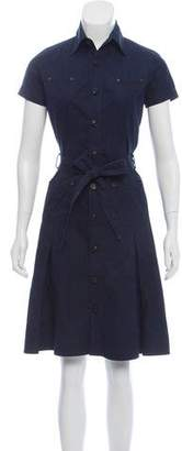 DSQUARED2 Belted Knee-Length Dress