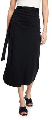 Vince Midi Wrap Skirt