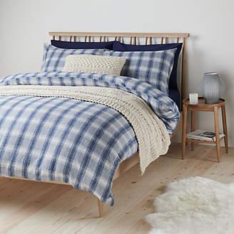 8d5b8a23947 John Lewis   Partners Check Brushed Cotton Duvet Cover Set