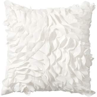 Pottery Barn Teen Pretty Petals Pillow, 14X14, White