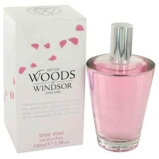 Woods of Windsor True Rose by Eau De Toilette Spray 3.3 oz (Women)