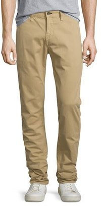 Rag & Bone Standard Issue Four-Pocket Relaxed Trousers, Khaki $210 thestylecure.com