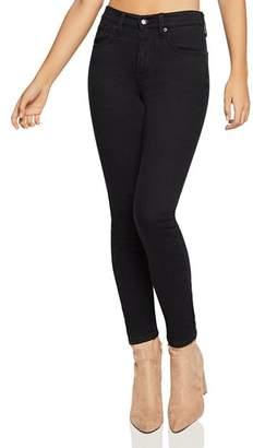 BCBGeneration Ankle Skinny Jeans in Black Rinse
