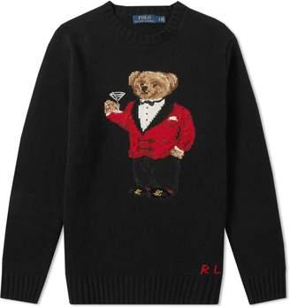 Polo Ralph Lauren Lunar New Year Bear Crew Knit
