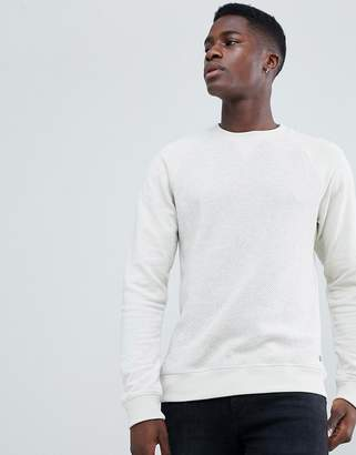Esprit Knitted Sweater With Jersey Sleeves