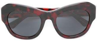 Linda Farrow Gallery Dries Van Noten Eyewear sunglasses