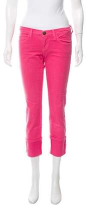 Current/Elliott Mid-Rise Straight-Leg Jeans w/ Tags