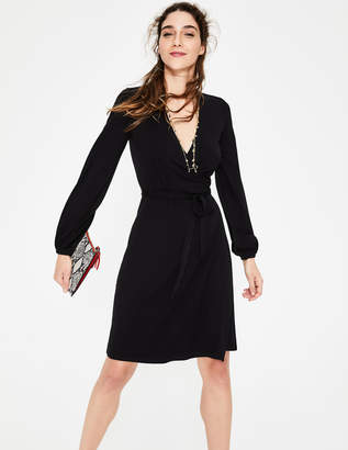 Boden Elodie Jersey Wrap Dress