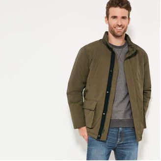 Joe Fresh Men's Military Jacket, Olive (Size XL)