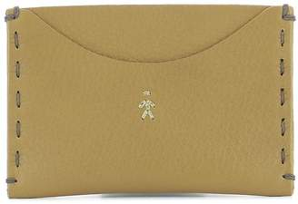 Henry Beguelin Mustard Leather Card Holder