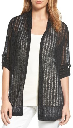 Women's Nic+Zoe Sheer Nights Cardigan $148 thestylecure.com