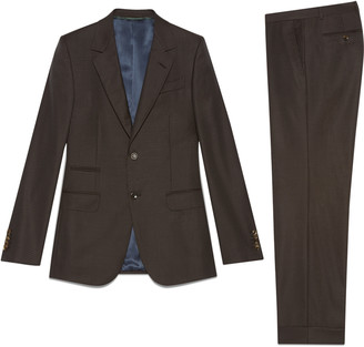 New Marseille dot print wool suit $3,200 thestylecure.com