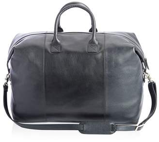ROYCE New York Leather Weekender Duffel Bag