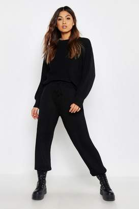 boohoo Chunky Knit Loungewear Set