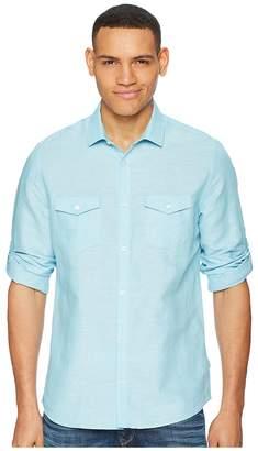 Calvin Klein Roll-Tab Woven Shirt Men's Clothing