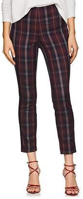 Rag & Bone Women's Simone Checked Cotton-Blend Pants