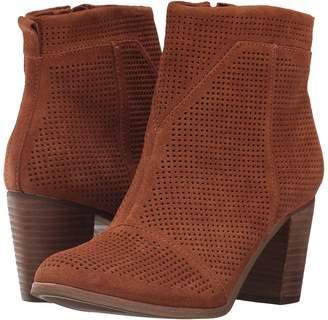 Toms Lunata Bootie Women's Zip Boots