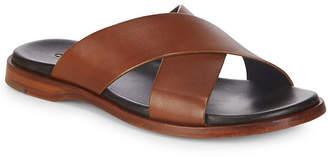 Cole Haan Goldwyn Crisscross Leather Sandals