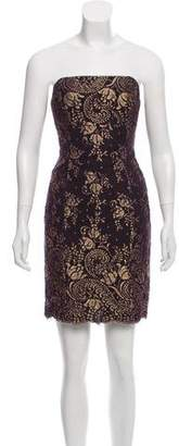 L'Wren Scott Strapless Lace Dress