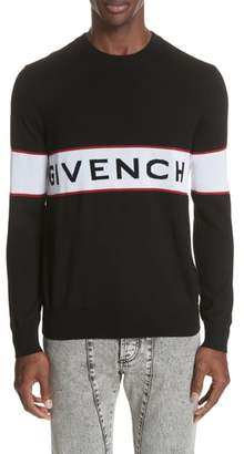 Givenchy Logo Band Wool Sweater
