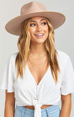 Show Me Your Mumu Lack of Color ~ Zulu Rancher Hat ~ Sand