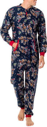 WEMBLEY Wembley Funsie Onesie Tired My Best 1 Piece Pajama -Men's
