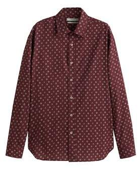 Mango man MANGO MAN Slim-fit flower print shirt