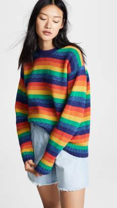 Acne Studios Samara Rainbow Sweater