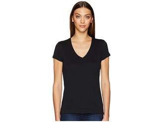 ADAM by Adam Lippes Short Sleeve V-Neck Core Tee