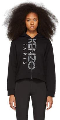 Kenzo Black Logo Sport Hoodie