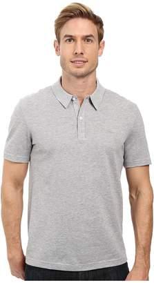 Lacoste Short Sleeve Mercerized Pique Polo w/ Tonal Embroid Croc Men's Short Sleeve Pullover