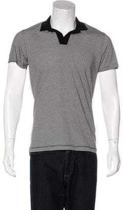 Orlebar Brown Felix Narrow Striped Polo Shirt w/ Tags