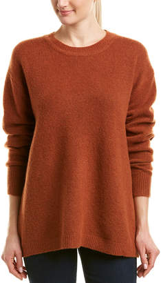 James Perse Oversized Cashmere-Blend Pullover