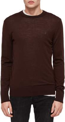 AllSaints Mode Slim Fit Merino Wool Sweater