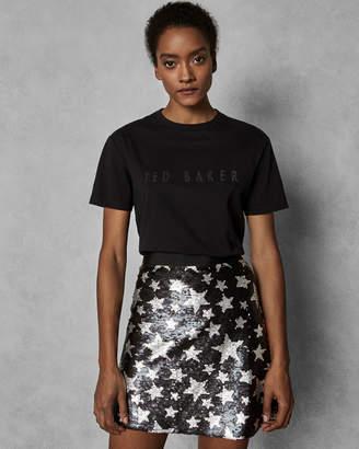 Ted Baker LINDYA Sparkle logo T-shirt