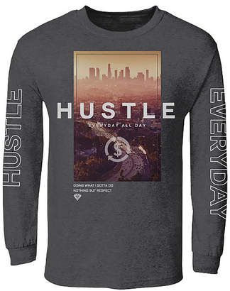 Novelty T-Shirts Hustle Everyday Graphic Tee