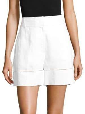 Escada Sport Tellino Linen Shorts