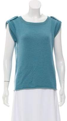 Marc by Marc Jacobs Cashmere Short Sleeve Sweater