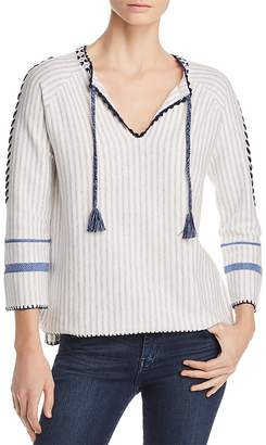 Lisa Todd The Escape Embroidered Tassel Sweater