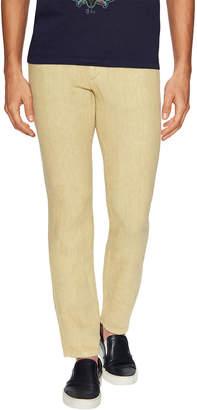 Etro Linen Solid Slim Pant