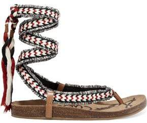 Sam Edelman Kelby Tasseled Woven Sandals