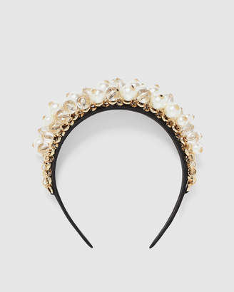 Forever New Remy Chain & Pearl Headband